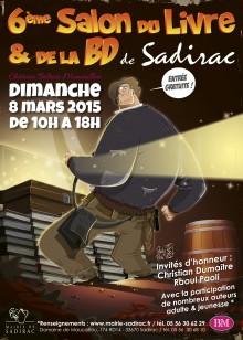 Affiche – Salon du Livre de Sadirac