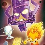 Galactus et ses Héraults - Poster 60x84cm