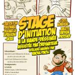 Illustration stage BD numérique